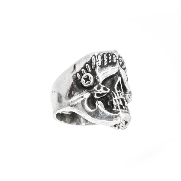 Frankenstein anillo de plata