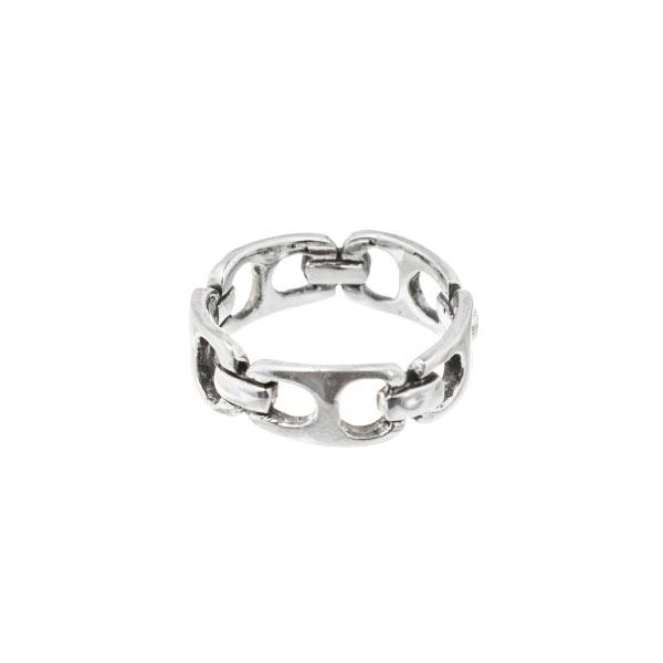 latas anillo de plata