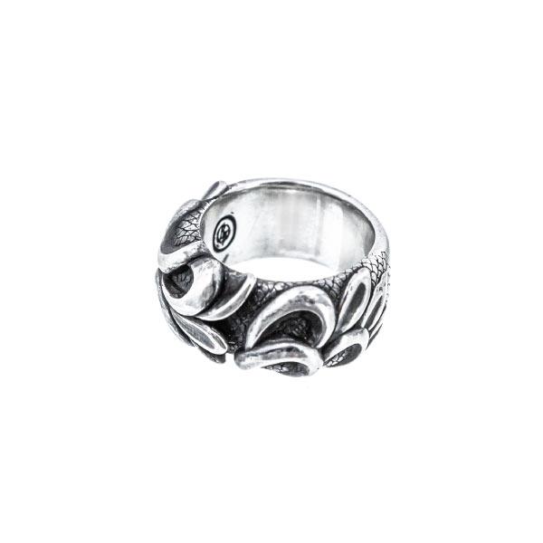 olas anillo de plata