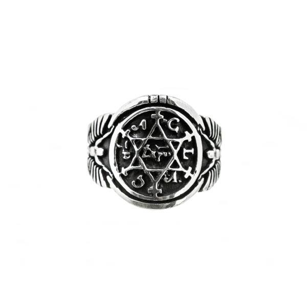 Salomón anillo de plata