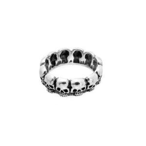 argolla multicalavera anillo de plata