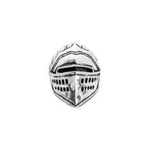 casco-guerrero-anillo de plata