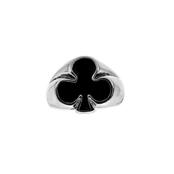 trebol-poker-rings-anillo de plata