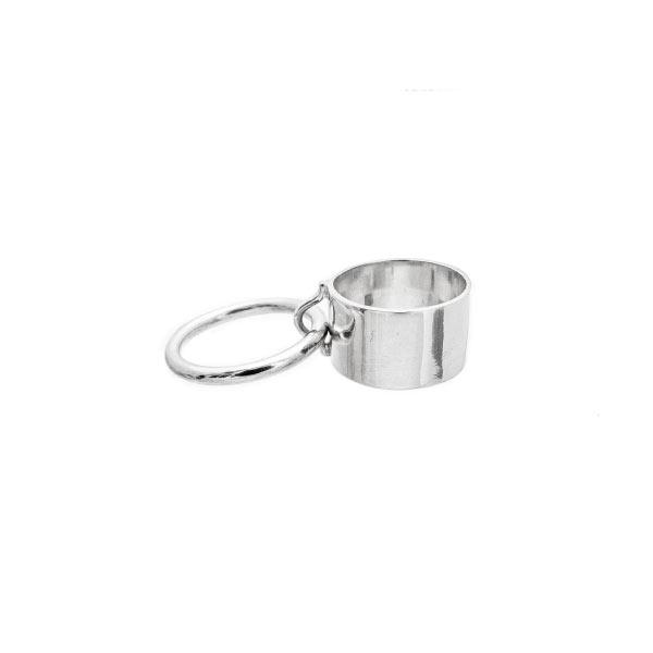 sado anillo de plata
