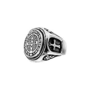 anillo-san-benito-anillo de plata
